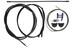 Shimano 105 STi ST-5703 Gearvælger Dual Control Hebelpaar 3x10 sort